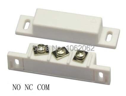 bilder für MC-31B NC & NO Oberfläche montierten magnetischen lücke schalter für tür und fenster sensor