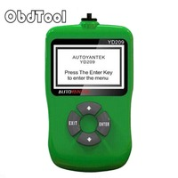 ObdTooL OBD2 Araba Tarayıcı YD209 Oto OBD 2 Online Güncelleme için J1850/ISO9141 Protokolleri Otomotiv Teşhis Aracı