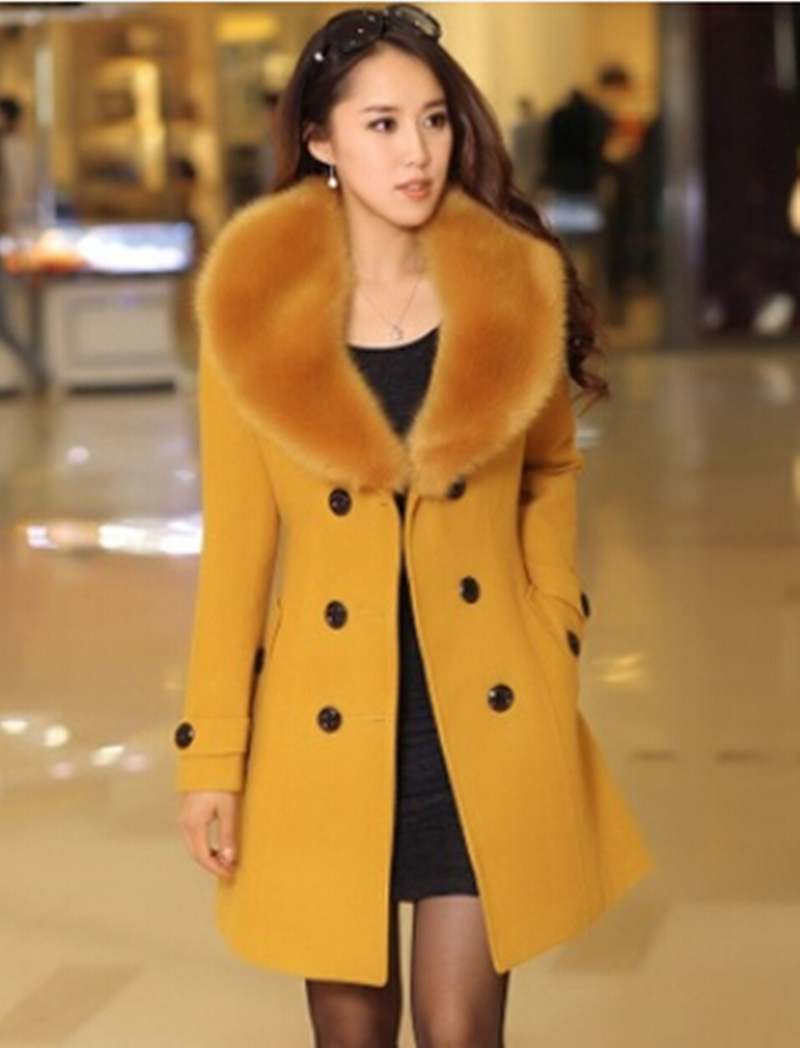 5xl La D'hiver 2018 Fourrure Femme rose De Plus Hiver blanc Noir kaki Veste rouge Avec jaune Manteaux Femmes gris 4xl Automne Taille Manteau Yw67q4Y