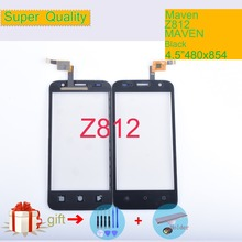 Original Touch Screen Digitizer For ZTE Maven Z812 Touch Panel Touchscreen Lens Front Glass Sensor NO LCD Z812 Replacement original new touch screen digitizer 7 85 inch zte e learning pad e8q tablet touch panel glass sensor replacement free shipping