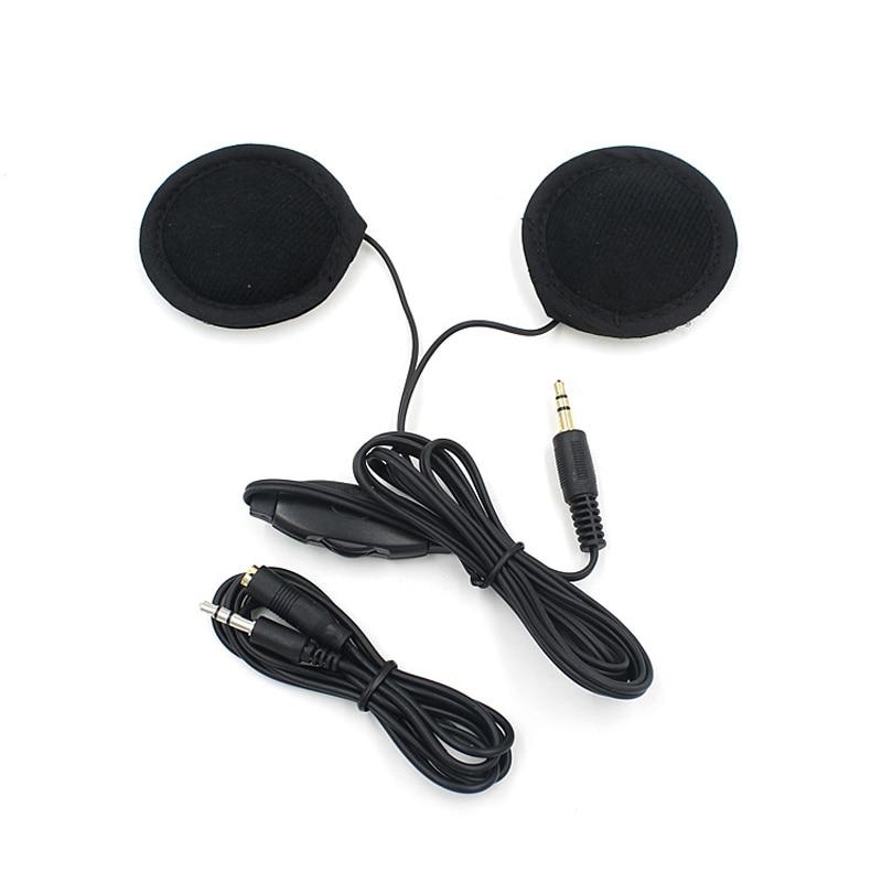 Motorbike Motorcycle Helmet Headset Speakers 3.5mm jack Earphone Headphone Speaker for Motorcycle Helmet Interphone MP3/GPS|Helmet Headsets| |  - title=
