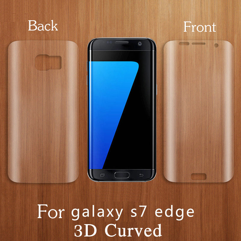 Clear 3D Curved Soft PET Full Cover Front Back Screen Protector Film For Samsung Galaxy S6 S7 Edge S8 S9 Plus Note 8 7 FE 9 10 image