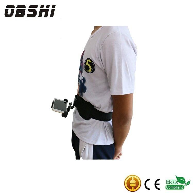 Sports de plein air ceinture mobile téléphone titulaire avec sécurité mobile téléphone clip et pour la course mobile téléphone caméra appareil photo et de l'argent sac