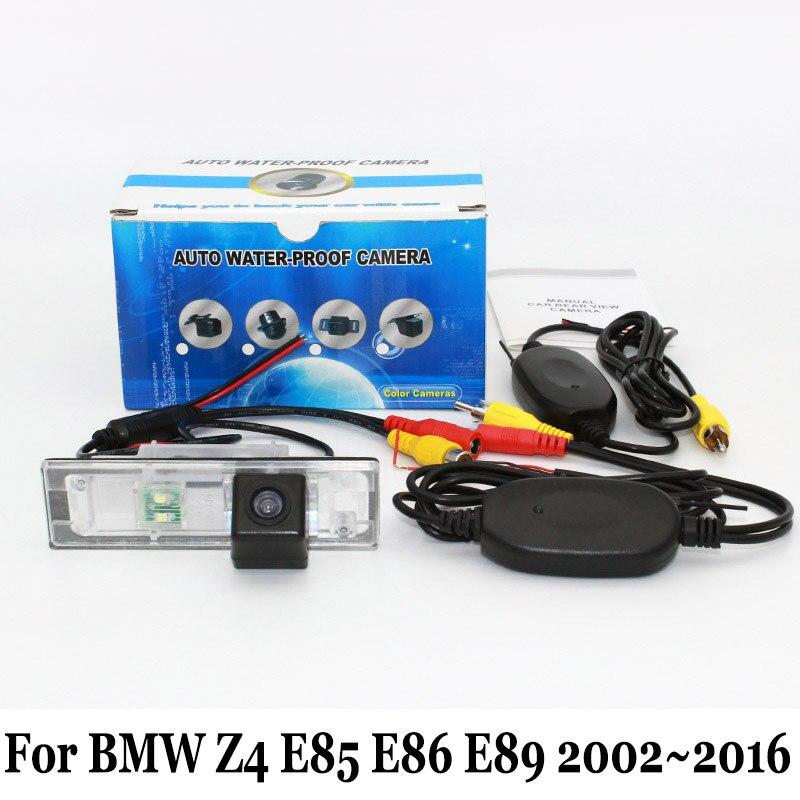 Arrière Vue Caméra Pour BMW Z4 E85 E86 E89 2002 ~ 2016 fil Ou Sans Fil  Véhicule Caméras De Sauvegarde Nuit Vision Voiture Support caméra af5916481b2