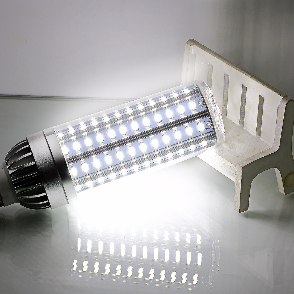 LED Light SMD5730 E27 220v Aluminium Fan Cooling High Power Corn Lamp LED Bulb 25W 35W 45W E26 110v Verlichting led Bombillas vbs real wattage 25w 35w 45w led lamp corn bulb 110v 220v e27 aluminum fan cooling 5730 smd led spot light corn light bulb