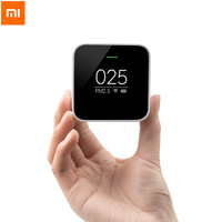 Original Xiaomi Mi PM2.5 Detector Know Your Air Anytime Anywhere Helps Track Real Time Air Quality Clock Mode Cute Portable