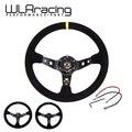 WLRING-volante ID = 14 polegadas 350mm OMP Profunda Milho Deriva Volante/Volante De Couro Camurça rodas 3/Cores WLR-SW21