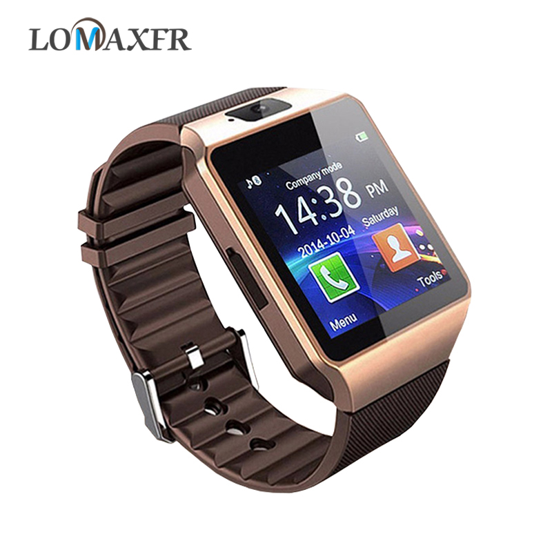 Smart Watch Sim Tf Card Push Message Smart Watches Camera Bluetooth Men Outdoor Sports Band For Android Phones DZ09 PK GT08 A1