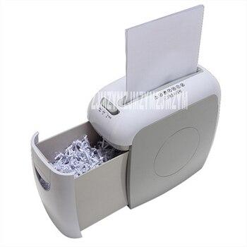 Mini Paper Shredder   VS511C-1  7.5L Mini Electric Paper Shredder Paper Broken Mute Pulverizer Family 220V/50hz Shredding Size 4*38MM 5 Sheets / Time