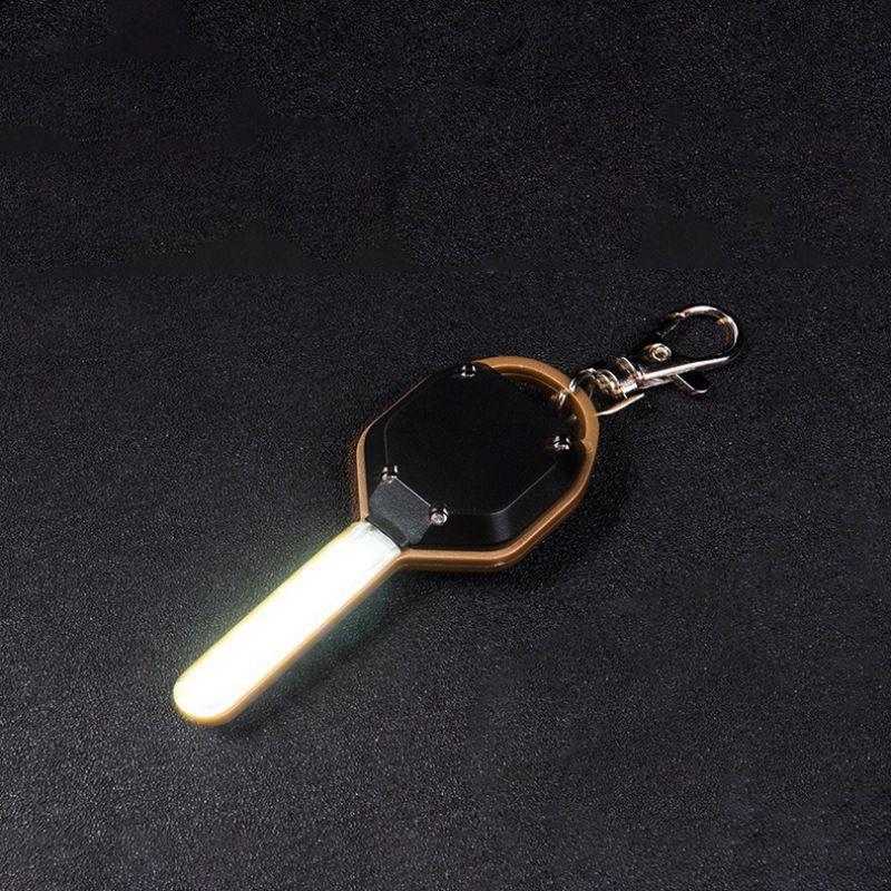 Éclairage extérieur multi-outils de nuit petite lumière LED forme de clé haute luminosité à piles réglable Note de contrôle monnaie