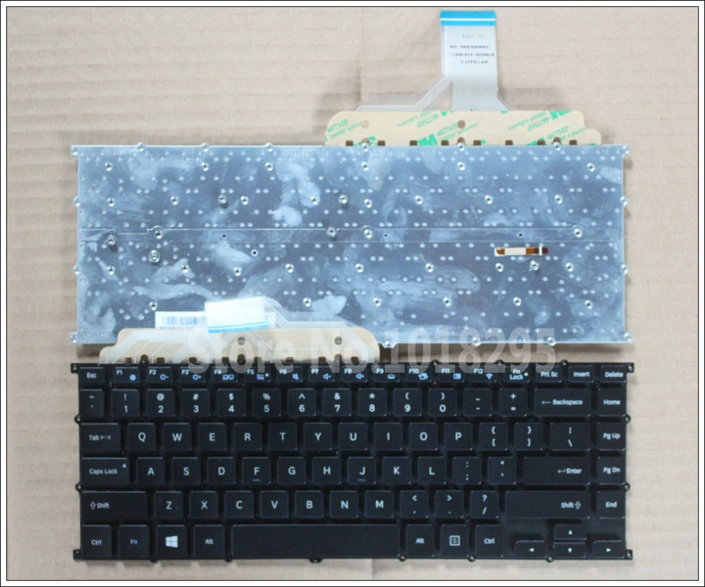 New US Keyboard FOR Samsung NP940X5J 940X5J NP900X5J 900X5J-K01 900X5J-K02 NP930X5J NP930Z5J Laptop Keyboard new for sony vgn fj series laptop us keyboard 147951221 black