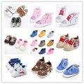 TongYouYuan Nueva Casual Unisex Muchachos de Las Muchachas de Bebé Vendido Zapatos para Niños Zapatillas Deportivas Infantiles Clásicos Newborn Prewalker Zapatos de Lona
