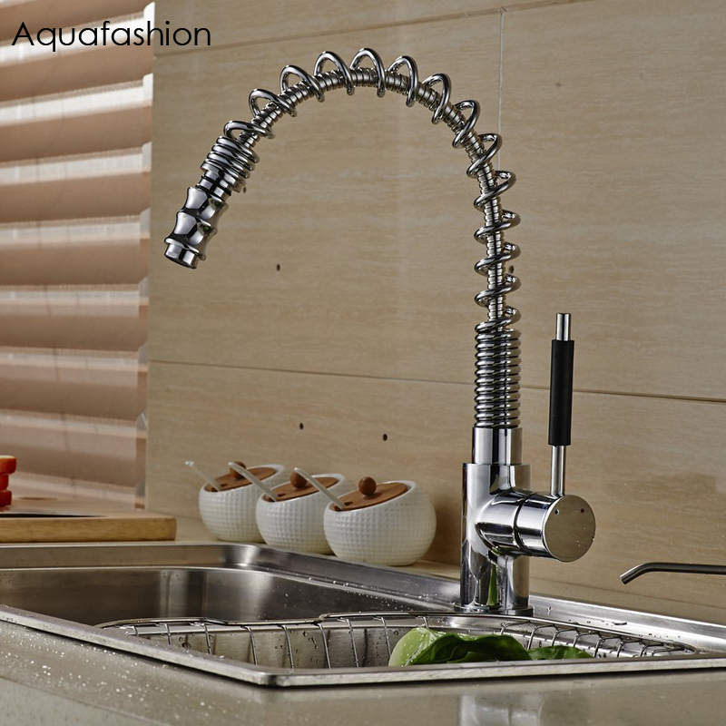 Spring Kitchen Faucet Pull Out Spray Kitchen Mixer Tap Kitchen Taps Water Tap Kitchen Sink Faucet Torneira Grifo gappo waterfilter taps kitchen faucet mixer taps water faucet kitchen sink mixer bronze water tap sink torneira cozinha ga1052 8