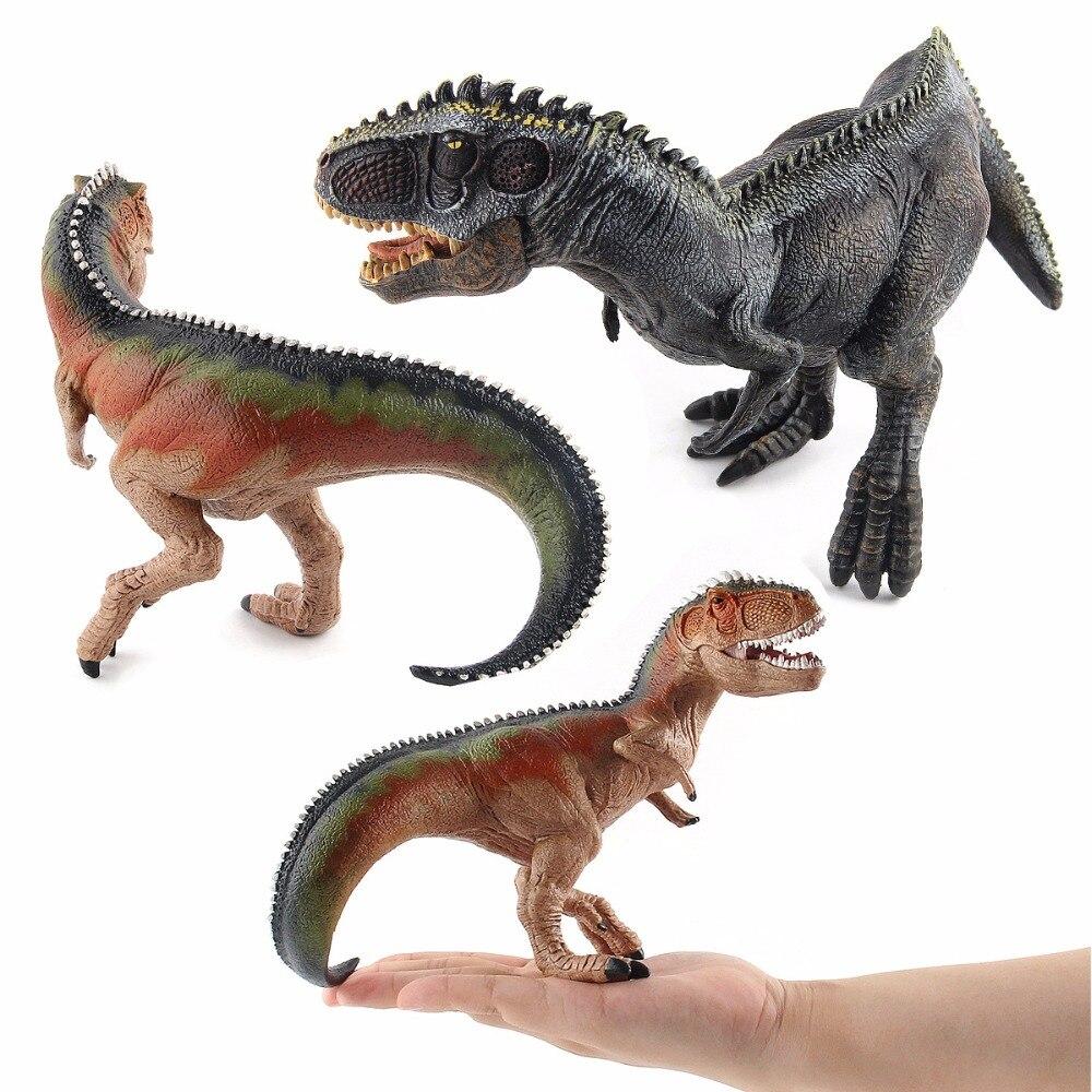 Action&Toy Figures Jurassic World Sets Tyrannosaurus Dragon Dinosaur Toy Plastic Dolls Animal Collectible Model Furnish Toy Gift