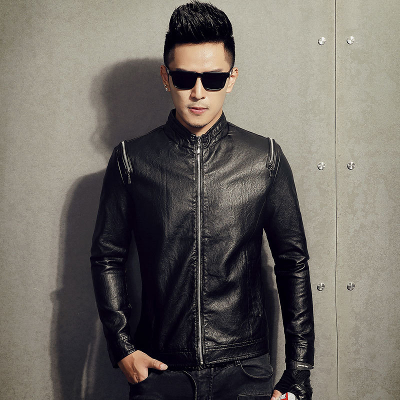Popular Leather Jackets for Young Men-Buy Cheap Leather Jackets ...