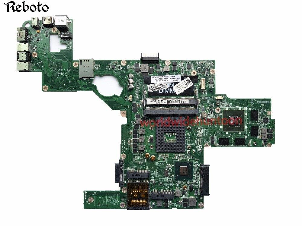 Материнская плата для ноутбука Dell XPS L502X PC PN CN-0714WC 0714WC DAGM6CMB8D0 GPU GT540M 2 ГБ Чипсет HM67 DDR3 полностью протестирован