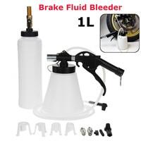 1L Air Brake Bleeder Kit Pneumatic Clutch Vacuum Oil Bleeding Extractor Fill Bottle