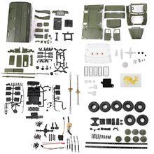 WPL B36 1:16 RC Car 2.4G 6WD Military Truck Rock Crawler Command Communication Vehicle Kit DIY Toys For Boys все цены