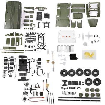 WPL B36 1:16 RC Car 2.4G 6WD Military Truck Rock Crawler Command Communication Vehicle Kit DIY Toys For Boys
