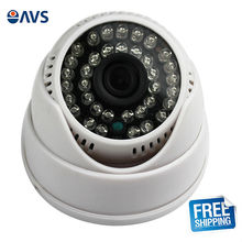 Economy Home Security System Sony CCD IR Dome CCTV Camera with 2.8mm Lens with Audio