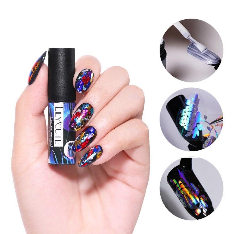 LILYCUTE 5 мл гель для ногтей волоконное Базовое покрытие ремонт сломанных ногтей стекловолокно глянцевый долговечный маникюр Дизайн ногтей