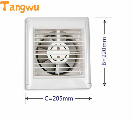 Fan Parts The bathroom exhaust fan window wall automatic shutter 6 inch ball Exhaust Fan NEW цена и фото