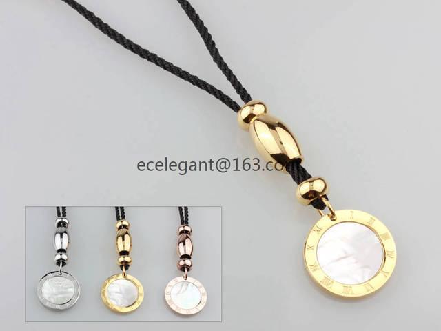 WLN0105 ГОРЯЧАЯ ПРОДАЖА бесплатная доставка желтое золото ожерелье, коричневый граненый хрустальный кулон из нержавеющей стали женщины ожерелья подарок