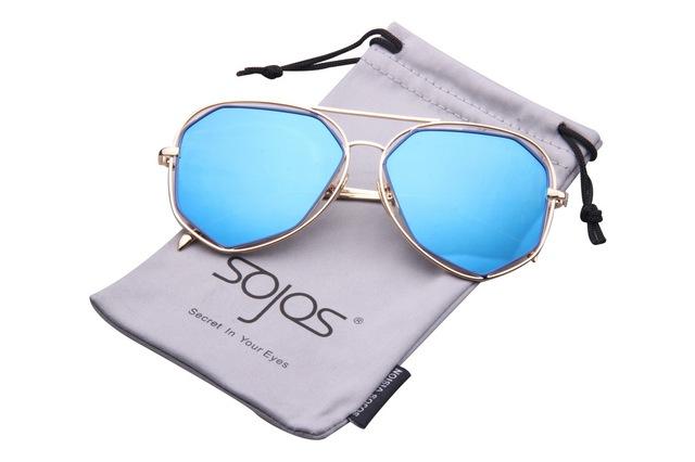 SOJOS estilo das mulheres óculos de sol para mulheres moda adulto mulher óculos de sol oculos de sol feminino boate 2016 nova marca 1004