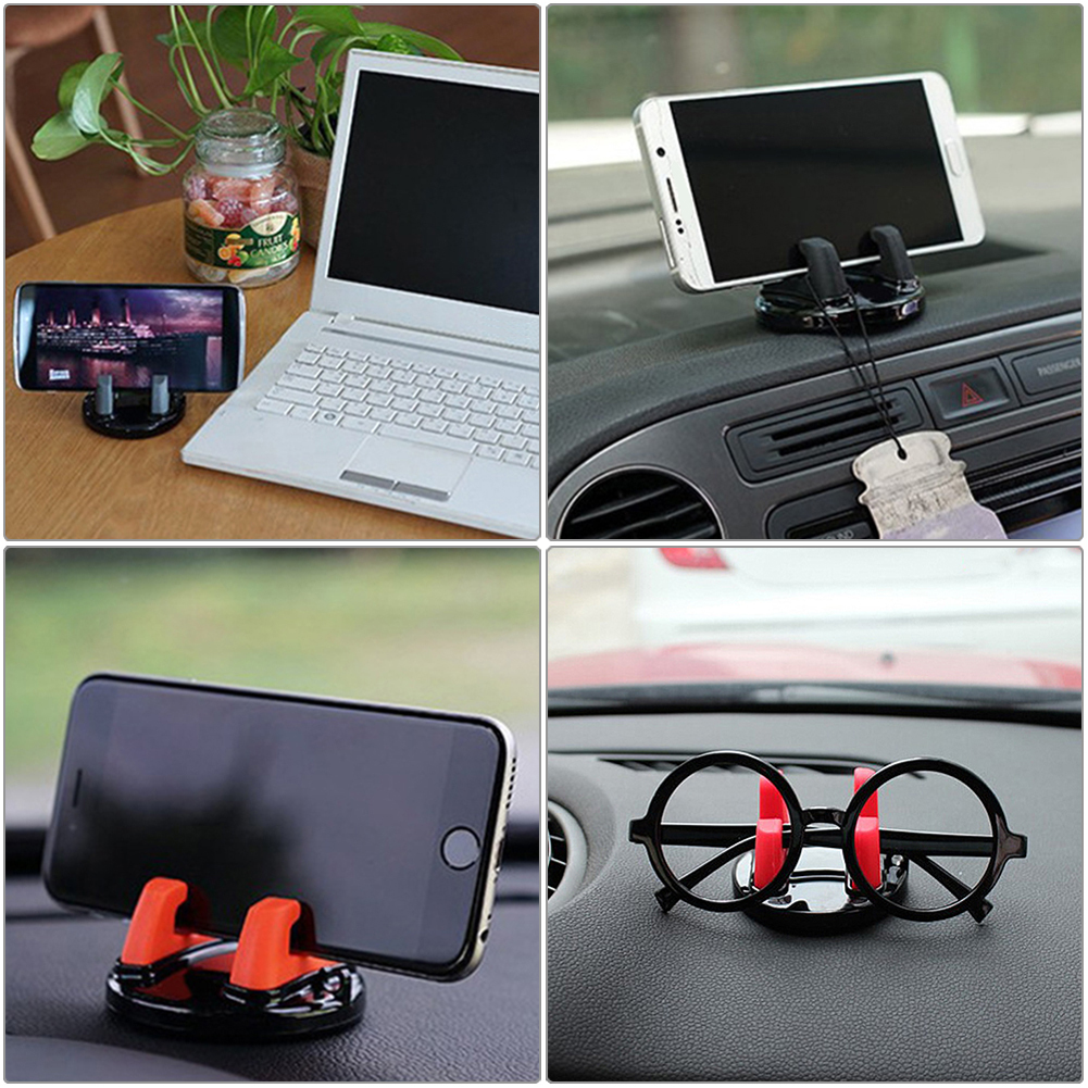 Car Phone Holder 360 Degree Dashboard Sticking Mobile Phone Holder GPS Stand Glasses Support Automotive Interior Car Accessories