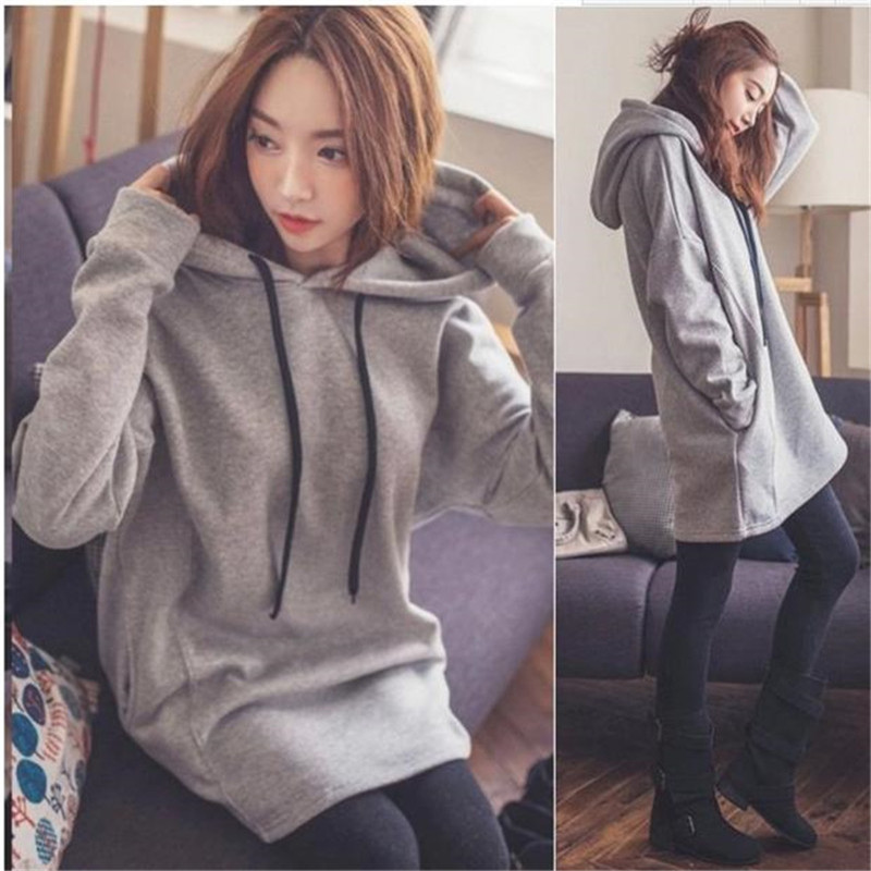 a8597ade805f0 Maternity Clothes Oversize Hoodies For Pregnant Women Clothing Winter Tops  Pullovers Warm Pregnancy Sweatshirts Outwear Hoodie