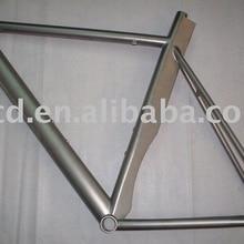 Лезвие Ti велосипедная Рама со специальным Подседельный штырь дизайн заказной титановой велосипедной рамы сделано XACD лезвие Ti велосипедная Рама
