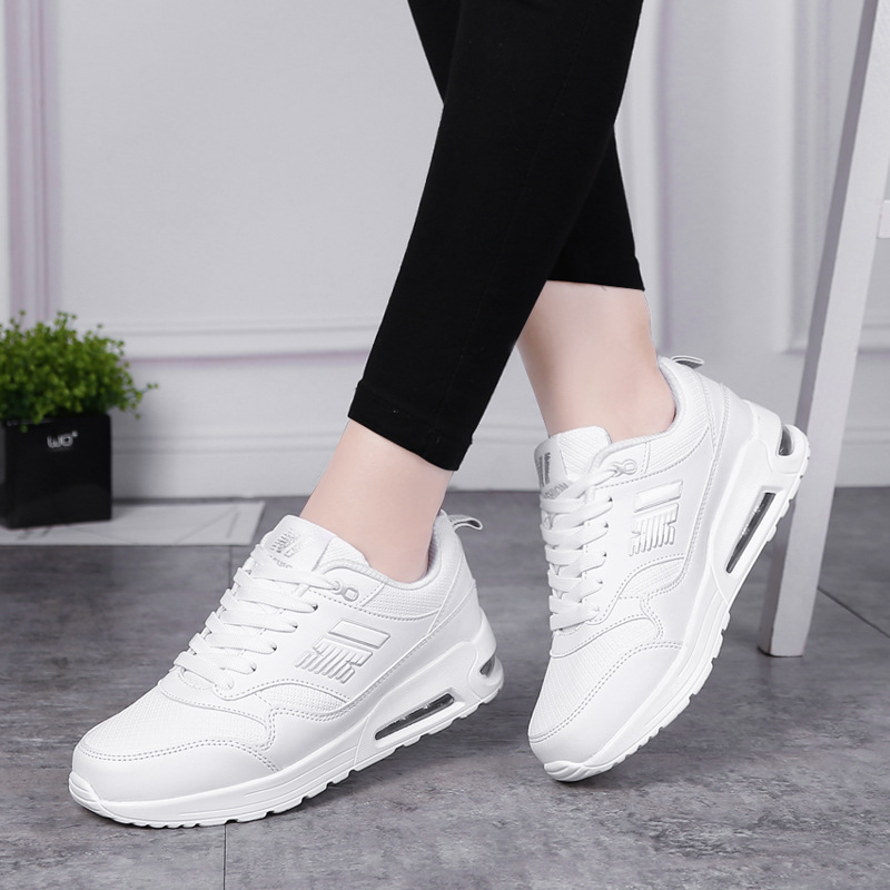 Breathable womens Running Shoes For Outdoor Comfortable red black woman Sneakers Air Cushioning Sport Shoes Basketball shoes