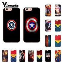 Yinuoda Marvel surprise captain TPU Soft Phone Case Cover for iPhone 8 7 6 6S Plus X XS MAX 5 5S SE XR 10 Cover yinuoda animals dogs dachshund soft tpu phone case for apple iphone 8 7 6 6s plus x xs max 5 5s se xr mobile cover