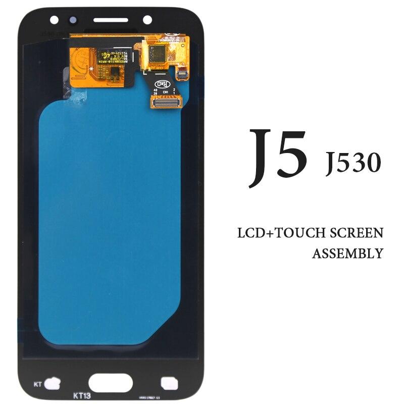 Pour Samsung Galaxy J5 2017 J530 J530F écran tactile LCD 5.2 ''AMOLED pas de Pixel mort remplacer le panneau pour Samsung J5 Pro écran LCD