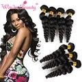 Cheap Brazilian Virgin Hair 4 Bundles Loose Wave Wet And Wavy Virgin Brazilian Hair Aliexpress UK Fast Deals Tissage Bresilienne