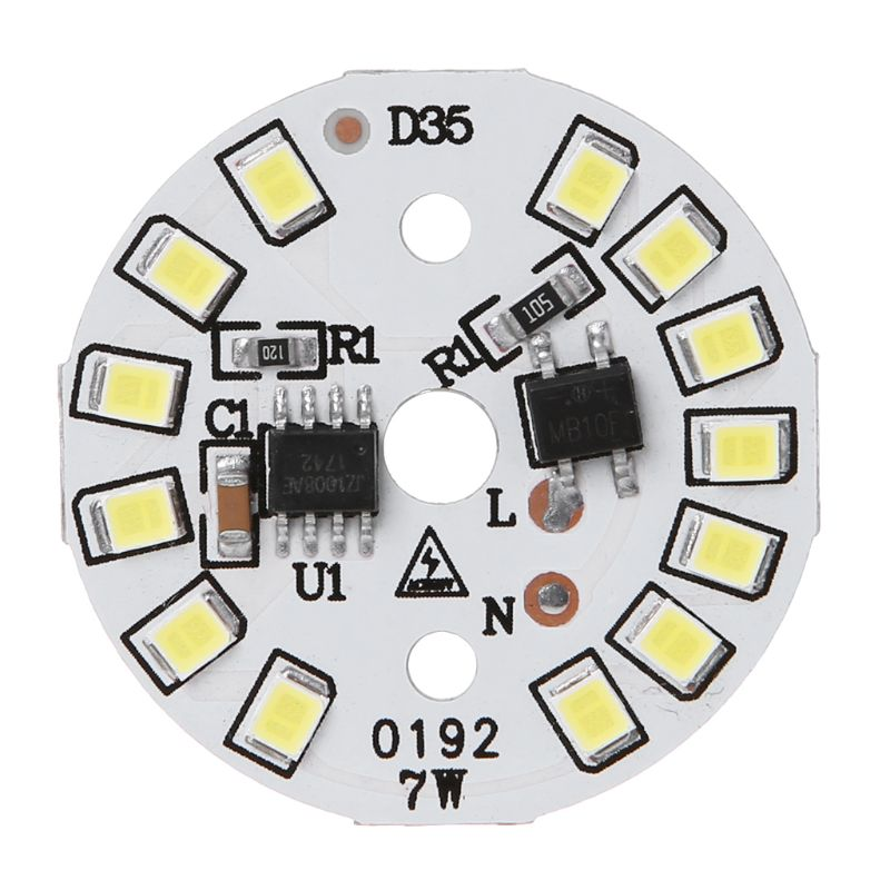 LED Lamp Panel SMD Light Chip For Bulb With Cold White Input Smart IC Bean Linear Round Drive Light Source Decor For Home Living