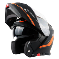 TORC Brand Flip Up Motorcycle Helmet Double Lens Design DOT ECE Approved Motorbike Helmet Removable And
