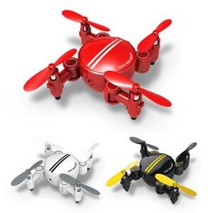 Image 4 - Quadcopter 時ドローンミニ折りたたみリモートコントロール航空機 HD 空中カメラ小型機と交換可能なバッテリー