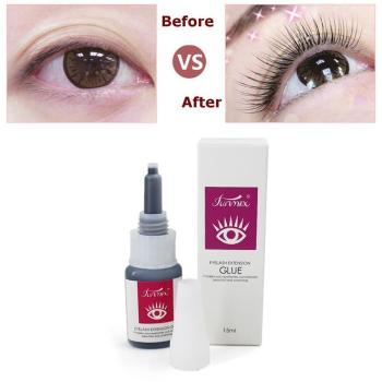 Professioan long lasting 30 days eyelash glue for lashes fast dry strong eyelashes extension glue Micro stimulation with odor 5