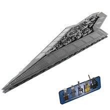 LEPIN 05028 Star Wars Destructor Estelar Imperial Modelo Building Block Toy Bricks Minifigures Compatible con 10221