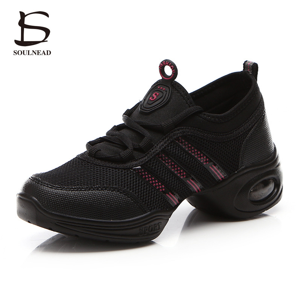 Hot Sale Women Dance Shoes Jazz Hip Hop Shoes Salsa Sneakers For Woman Modern Platform Dancing Ladies Shoes Footwear For Women
