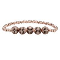 1pcs 10mm Shamballa Bracelet Pave Crystal Disco Ball Charm Beads Easy Adjustable Bracelet Nice Gift For