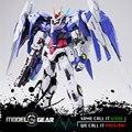 MC Metal Gear 00 Raiser 1/100 Metal construir MB GN-00 + GNR-010 Cor Azul