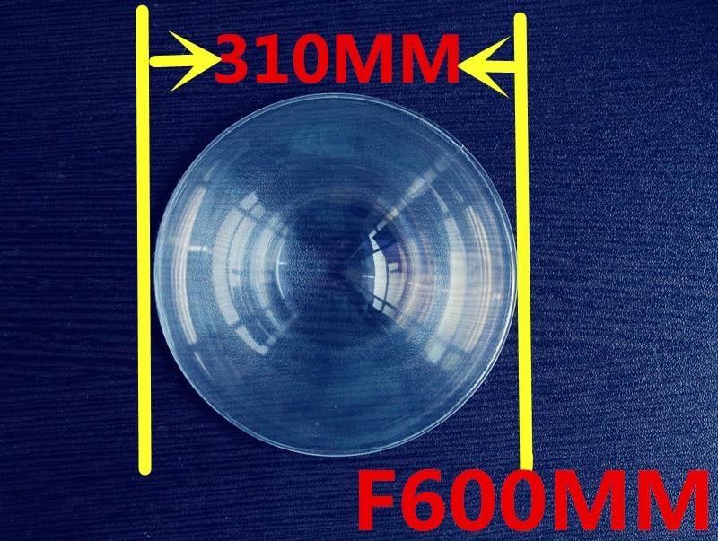 long Focal length 600mm Fresnel lens Diameter 310mm big size Round  Fresnel Lens thickness 2mm circle lens for DIY Free shipping  цены