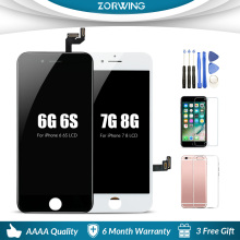 Grade AAA LCD Display For iPhone 6 6S 5s LCD Digitizer Touch Screen Replacement For iPhone 6 S 7 8 LCD Screen Ecran Pantalla 6 e ink lcd screen matrix for nook barnes page 7 page 8