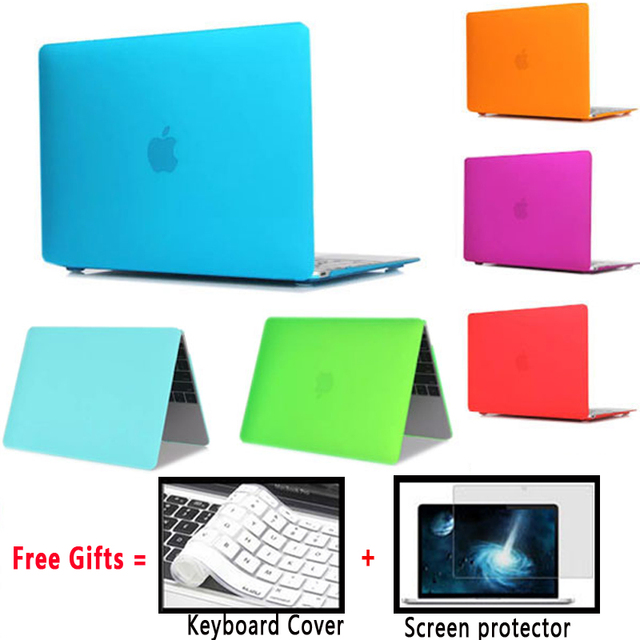 Matte Laptop Cover For Apple Macbook Pro 13/Air 13 Case 13.3 inch Matte Laptop Cases for Pro 13 Cases with Retina Air 13 Cover