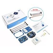 STLINK-V3SET, модульный встроенный отладчик и программист для STM32/STM8, обеспечивает интерфейс виртуального com-порта
