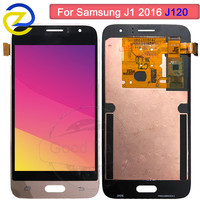 Amoled LCD For Samsung galaxy J1 2016 J120DS J120M J120H LCD Display touch Screen Digitizer For Samsung J1 2016 lcd j120f screen