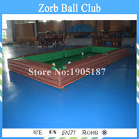 Free Shipping Inflatable Snookball Game ,Snooker Ball,Snooker Football,Inflatable Snookball Table Game For Sale