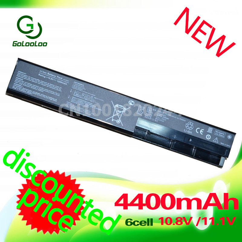 Golooloo 4400MAH Laptop Battery for asus A41-X401 A32-X401 X501 X301 F401 F501 F301 S401 S501 S301 X401A A31-X401 A42-X401 x501a laptop keyboard for asus x501 x501a x501u black without frame italian it mp 11n66i0 920w 0knb0 6103it00
